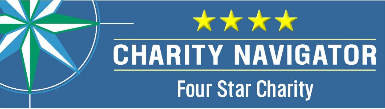 Four-star Charity Navigator logo