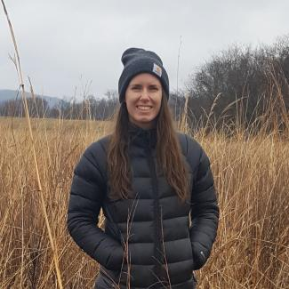 Hannah Mullally, Farm Bill Pollinator Conservation Planner and NRCS Partner Biologist, Maine